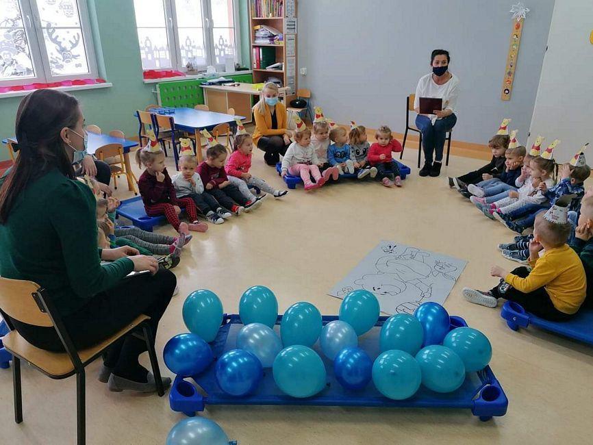 Kubuś Puchatek zawitał do Klubu Dziecięcego w Lelicach