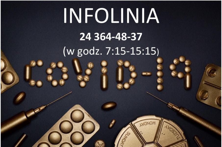 PRZYPOMINAMY – Infolinia dotycząca szczepień przeciw COVID-19