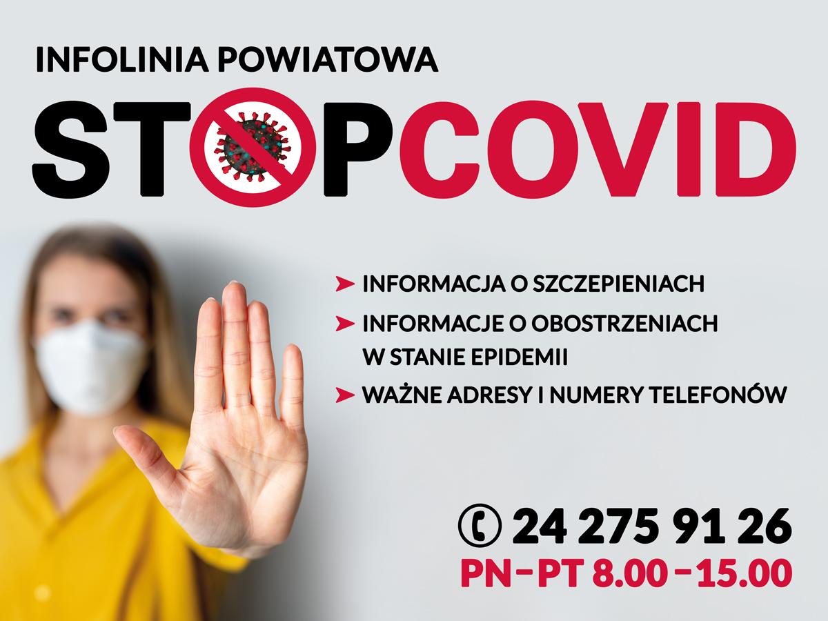 Infolinia Powiatowa STOPCOVID!