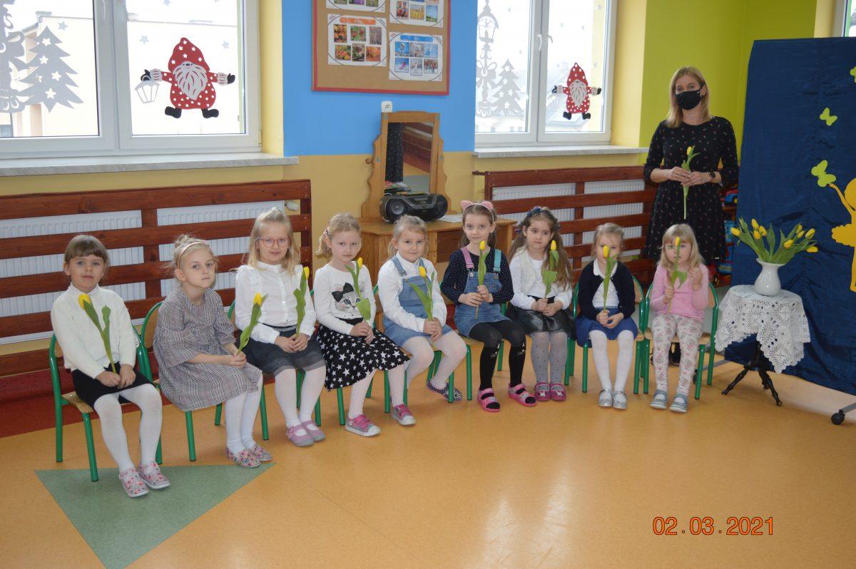 Dzień Kobiet w Przedszkolu w Gozdowie