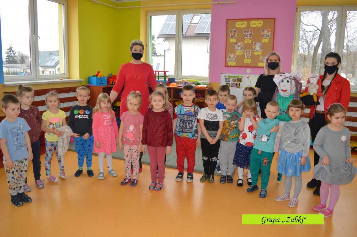 Wiosna, ach to ty! Lekcje biblioteczna w Publicznym Przedszkolu w Gozdowie.