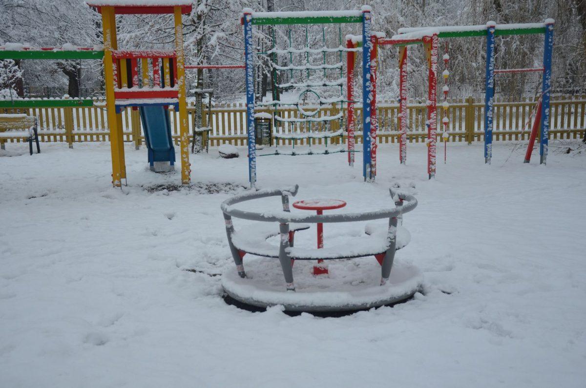 Doposażenie placu zabaw w miejscowości Gozdowo, gmina Gozdowo