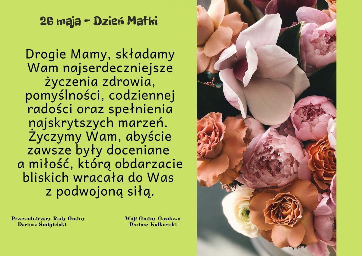 26 – maja Dzień Matki