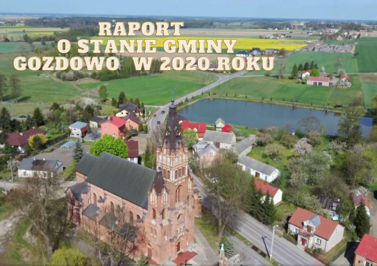Raport o stanie Gminy Gozdowo w 2020 roku
