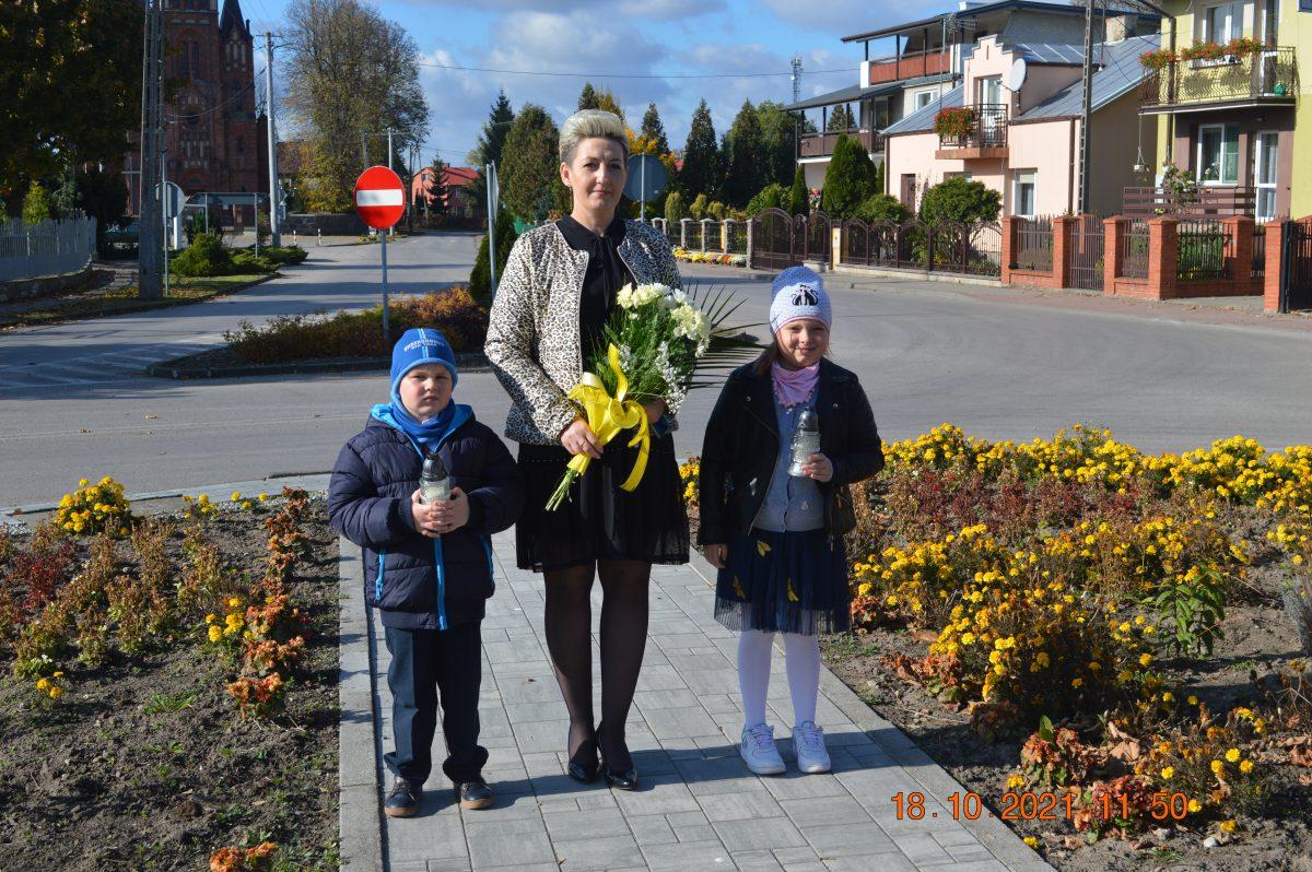 Przedszkolaki z Gozdowa pamiętali o swoim patronie…!