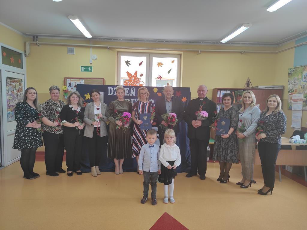 Dzień Edukacji Narodowej w Przedszkolu w Gozdowie